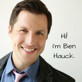 Hi I'm Ben Hauck 325x325